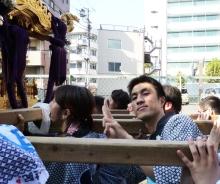 $高田馬場まで通う係長の記-高田 氷川神社祭礼-7