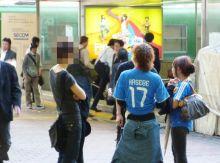$原宿と渋谷の間に間に-ワールドカップin渋谷-1