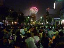 $原宿と渋谷の間に間に-2010隅田川花火大会-1