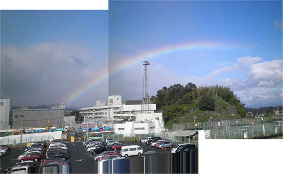 10月6日 虹