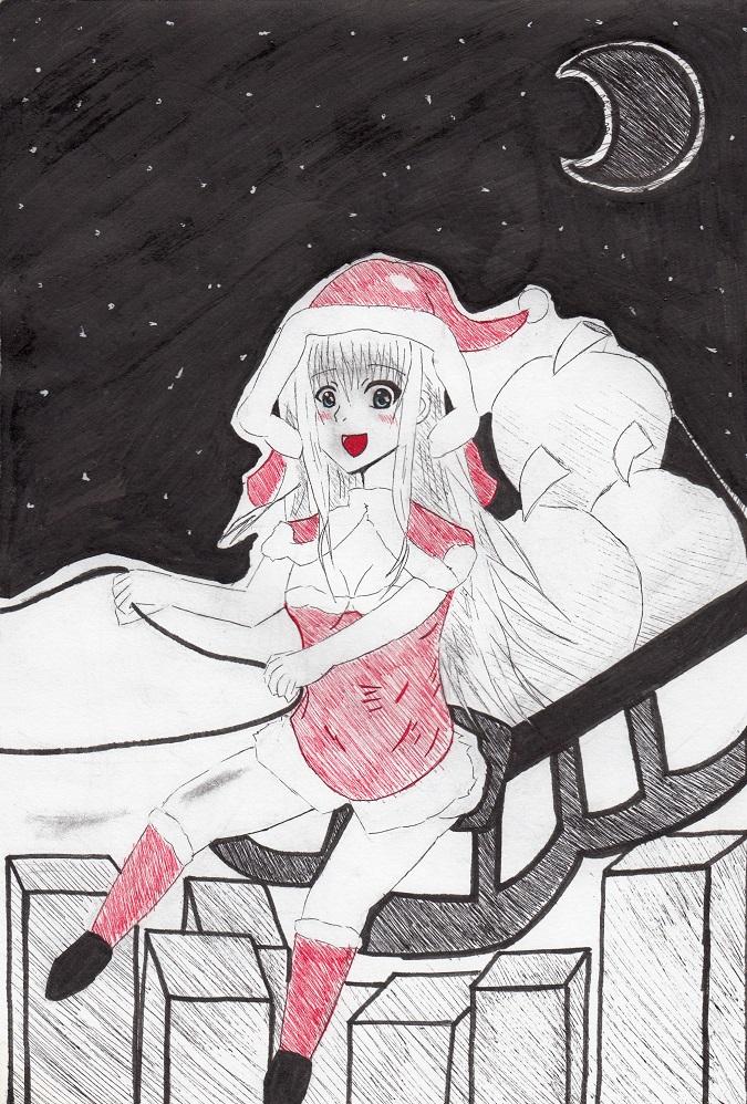 サンタっ娘(2013) 今日ものんびりと