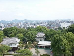 犬山からの景色