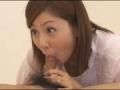 憧れのAV女優にキス手コキされ感極まってセルフ顔射を決める童貞君♪