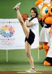 体操選手の田中理恵ちゃんの始球式が素晴らしい件