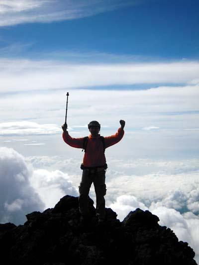 2010年7月:富士山