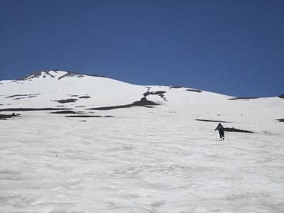 須走登山道2650m付近をハイク。