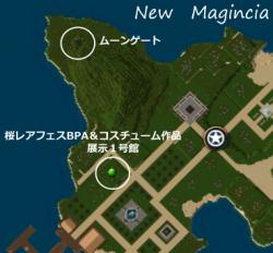 桜BPA&コスチューム展示1号館MAP