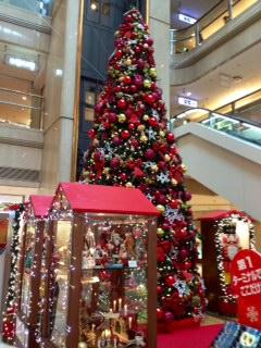 羽田空港のツリー
