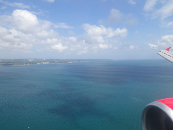 Landing in Denpasar, Bali
