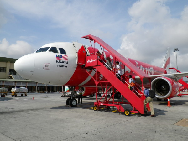 Flying by Air Asia at KLIA-LCC