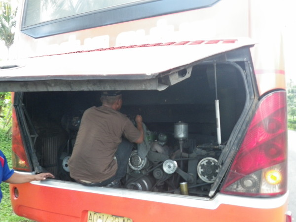 Real engine trouble