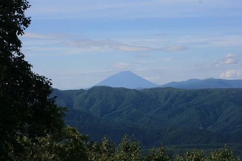 カムイヌプリから羊蹄山100904