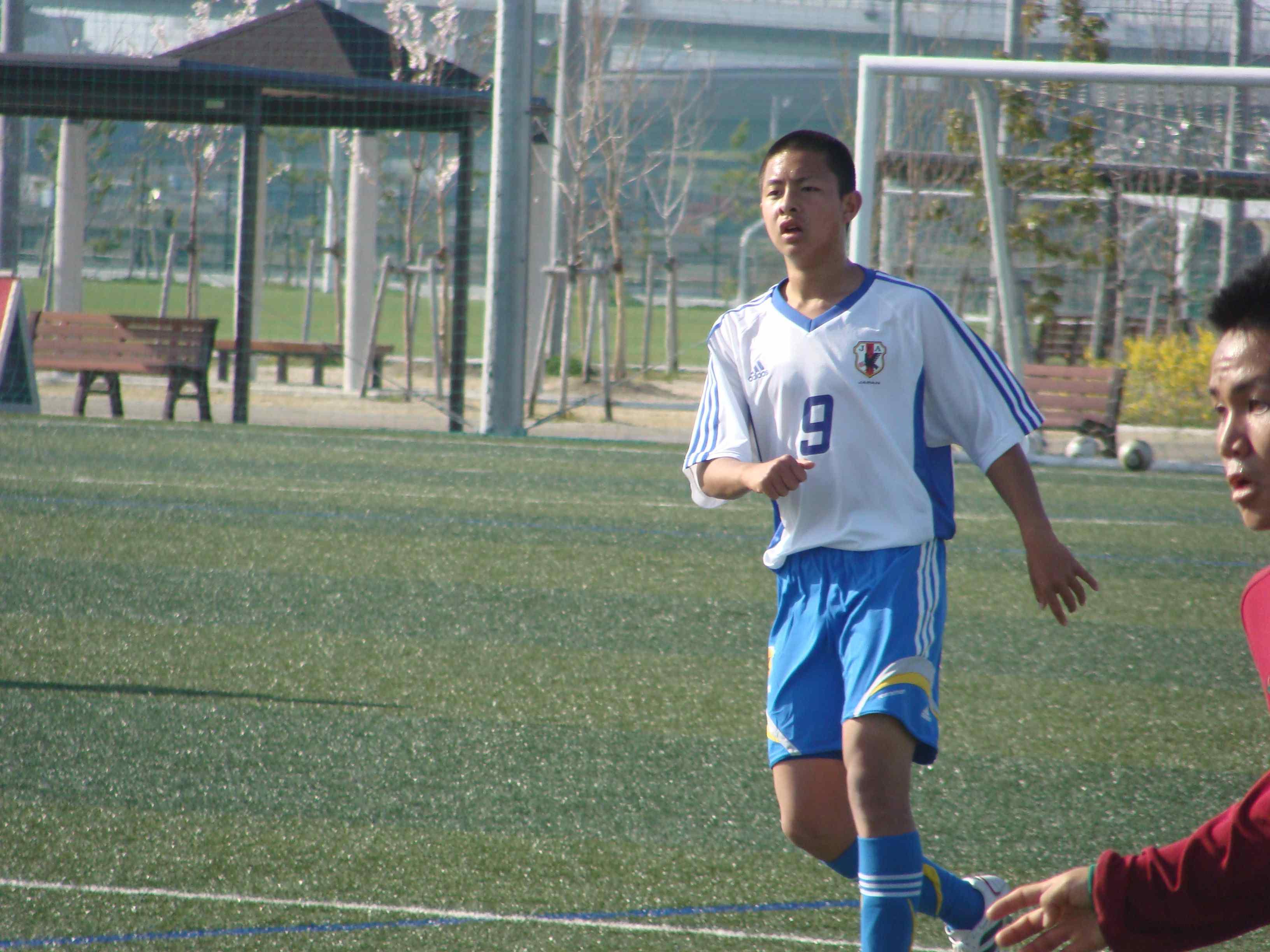 U-15日本代表候補TRC @J-GREEN...