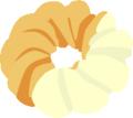 ドーナッツ バニラ
