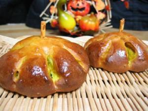 2010 10 31 かぼちゃパン2