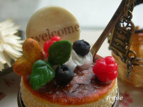 スフレチーズケーキのウェルカム3