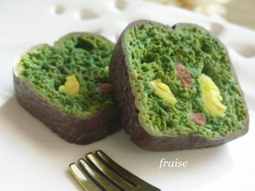 抹茶パウンドケーキ2