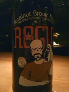 ヘーゼルナッツのビール
