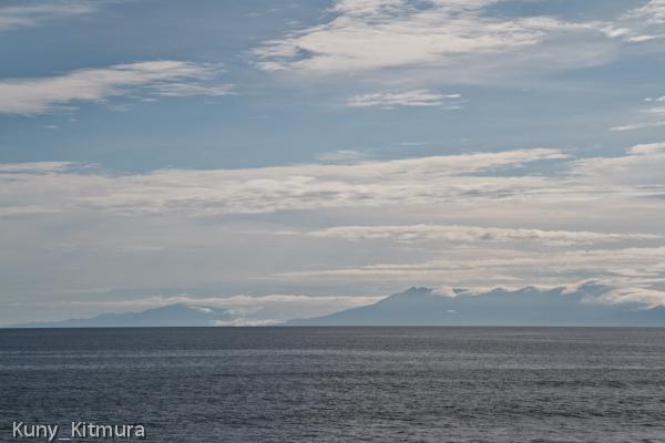 知床岳と知床連山