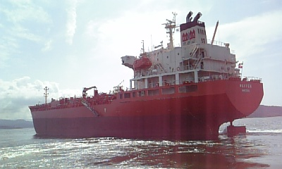 2007年8月23日 新造船 19900トン型 ケミカルタンカー