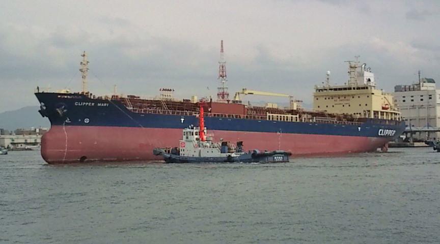 2010年1月12日 新造船 ケミカルタンカー