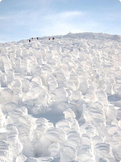 山形 蔵王 樹氷