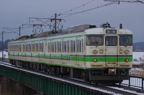 新潟 115系 N4
