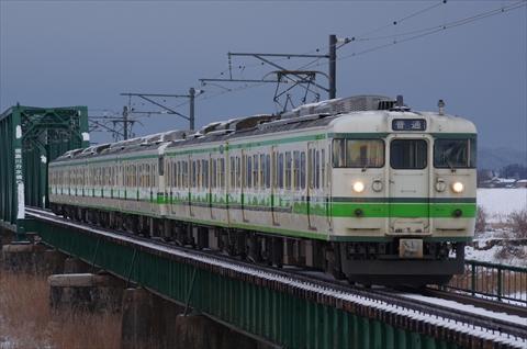 新潟 115系 S14