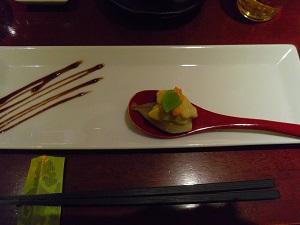 フォアグラの冷菜2