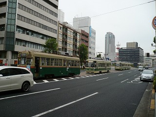 電車の大渋滞