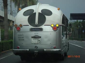 ミッキーのバス?