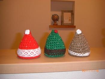 クリスマスツリー毛糸