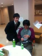 柳さんと廣田くん