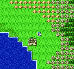 ドラゴンクエストⅡ 勇者の泉~合流~湖の洞窟~銀の鍵019