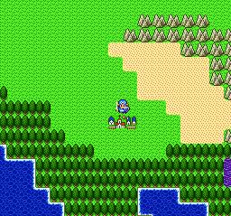 ドラゴンクエストⅡ 勇者の泉~合流~湖の洞窟~銀の鍵022