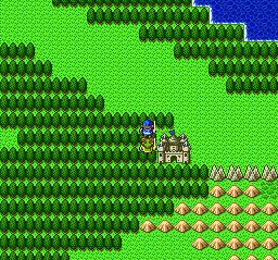 ドラゴンクエストⅡ 勇者の泉~合流~湖の洞窟~銀の鍵042