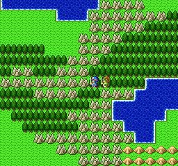 ドラゴンクエストⅡ 勇者の泉~合流~湖の洞窟~銀の鍵044