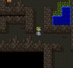 ドラゴンクエストⅡ 勇者の泉~合流~湖の洞窟~銀の鍵060