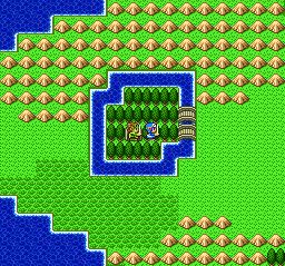 ドラゴンクエストⅡ 湖の洞窟終了~ローラ門~ムーンペタ~ム~ンブルグ城001