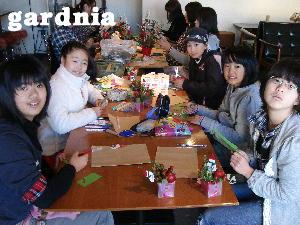 2010.12.12 クリスマスキッズレッスン様子