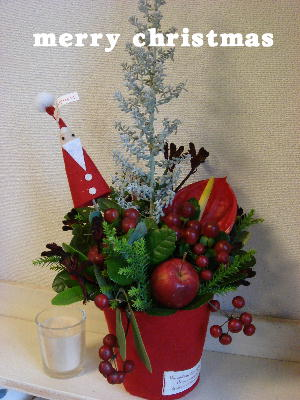 2010.12.12 クリスマスアレンジ