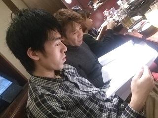 村上秀樹さんと小林将司さん