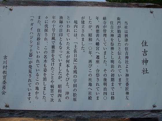 神社巡り26 住吉神社