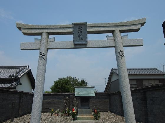 神社巡り37 畠中神社