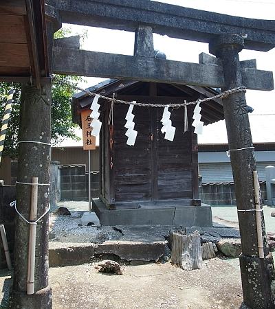 石玉神社 若一王子宮の参拝道