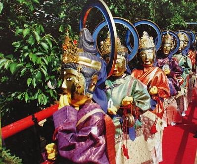 京都 光明時 二十四菩薩練り供養