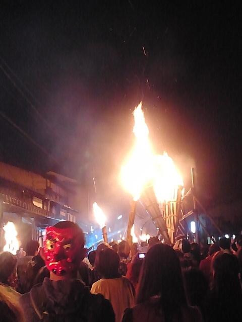 鞍馬火祭り ブログに1