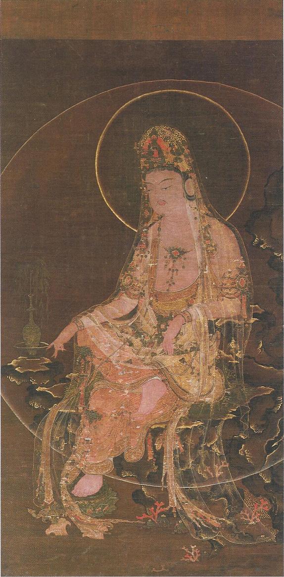 楊柳観音像のコピー