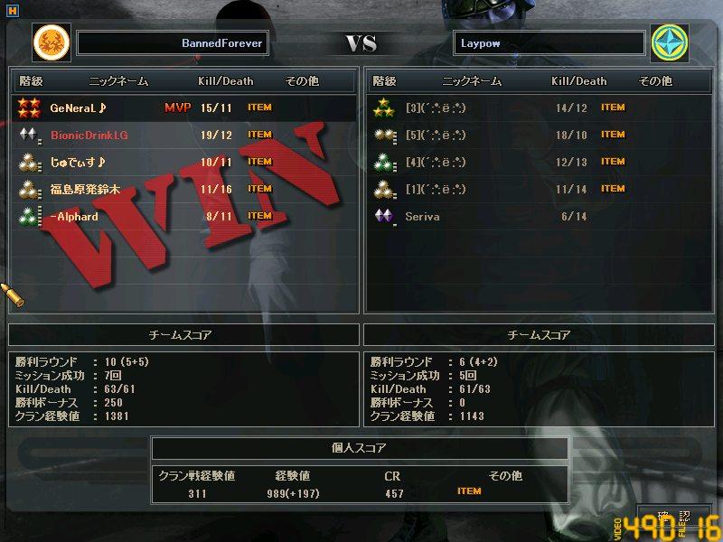 CTLW5回戦