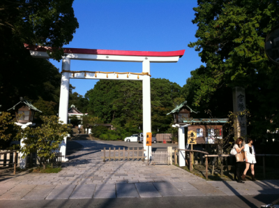 鎌倉宮 外観
